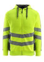 MASCOT-Workwear-Warn-Schutz-Sweatshirt, Corby, SAFE SUPREME, 310 g/m², gelb/dunkelanthrazit