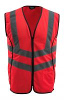 MASCOT-Warnschutz-Verkehrsweste, Wingate,  160 g/m², rot