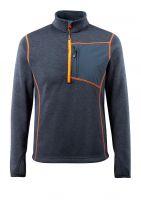 MASCOT-Workwear-Arbeits-Berufs-Strick-Pullover, Reims, HARDWEAR, 300 g/m², schwarzblau