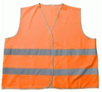 MASCOT Warn-Schutz, Verkehrs-Arbeits-Sicherheits-Warn-Berufs-Weste, WEYBURN, 10-er Pack, orange