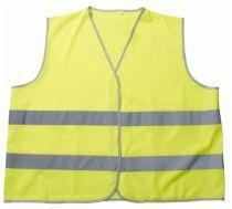 MASCOT Warn-Schutz, Verkehrs-Arbeits-Sicherheits-Warn-Berufs-Weste, WEYBURN, 10-er Pack, gelb