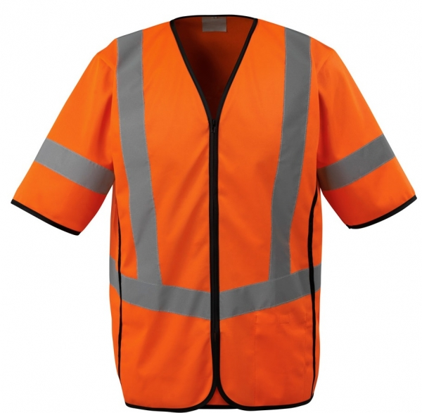 MASCOT-Workwear-Warn-Schutz-Verkehrs-Weste, SAFE SUPREME, 130 g/m², orange