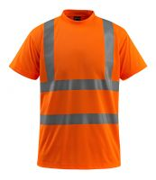 MASCOT-Workwear-Warn-Schutz-T-Shirt, Townsville, SAFE LIGHT, 130 g/m², orange