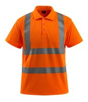 MASCOT-Workwear-Warn-Schutz-Polo-Shirt, Bowen, SAFE LIGHT, 130 g/m², orange