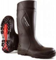 DUNLOP-S5-PU-Sicherheits-Gummi-Stiefel, `Purofort+`, (45509), schwarz
