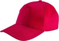 LEIBER Caps mit Druckknopf, rot