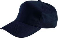 LEIBER Caps mit Druckknopf, schwarz
