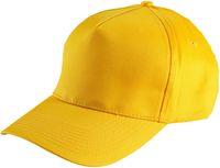 LEIBER Caps mit Druckknopf, gelb