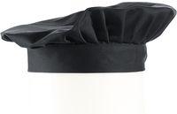 LEIBER-Barett-Mütze, ca. 190g/m², schwarz