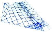 LEIBER-Geschirr-Hand-Tücher, Geschirrtuch, ca. 200 g/m², blau/weiß