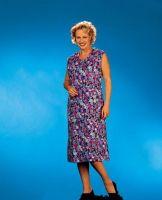 LEIBER-Damen-Arbeits-Berufs-Mantel, Damenkittel, farbig sortiert