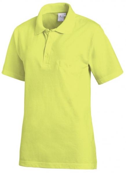 LEIBER-Polo-Shirt, ca. 220 g/m², limette