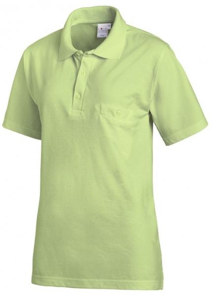 LEIBER-Polo-Shirt, ca. 220 g/m², hellgrün