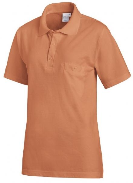 LEIBER-Polo-Shirt, zimt