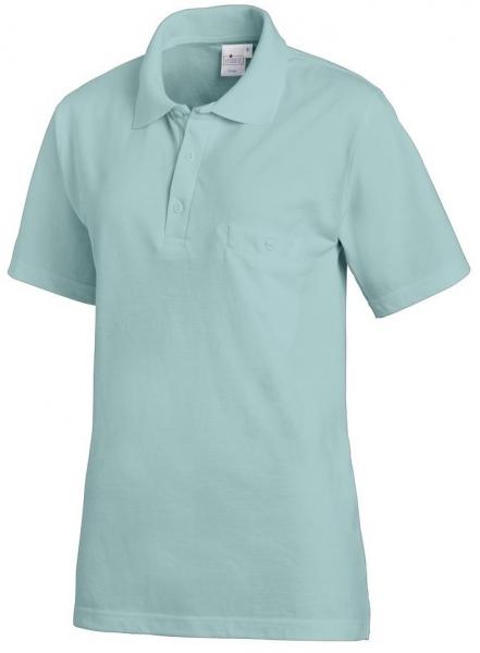 LEIBER-Polo-Shirt, salbeigrün