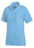 LEIBER-Poloshirt, Arbeits-Berufs-Polo-Shirt, 1/2-Arm, türkis