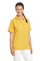 LEIBER-Poloshirt, Arbeits-Berufs-Polo-Shirt, 1/2-Arm, mango