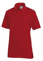 LEIBER-Poloshirt, Arbeits-Berufs-Polo-Shirt, Damen und Herren, 1/2-Arm, rot