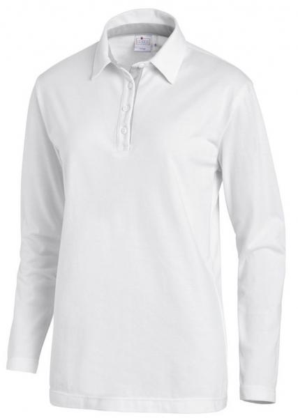 LEIBER-Polo-Shirt für Sie & Ihn, 1/1 Arm, ca. 220g/m², weiß/silber