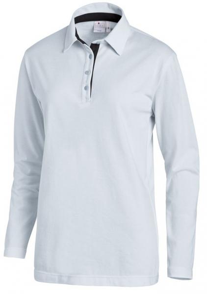 LEIBER-Polo-Shirt für Sie & Ihn, 1/1 Arm, ca. 220g/m², hellblau/marine