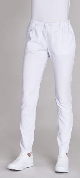 LEIBER-Damen-Bundhose, SL: 88 cm weiß