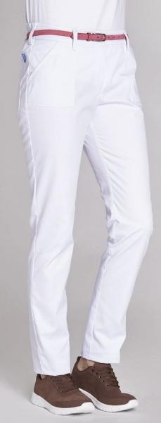 LEIBER-Damen-Bundhose, SL: 75 cm weiß