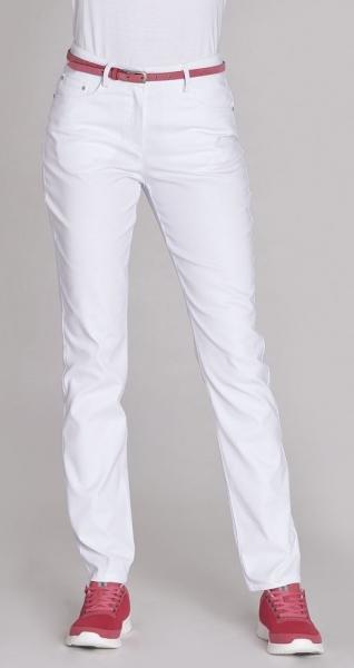 LEIBER-Damen-Bundhose, ca. 75 cm, weiß