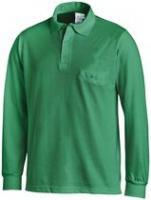 LEIBER-Poloshirt, Arbeits-Berufs-Polo-Shirt, 1/1-Arm, MG220, grün