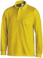 LEIBER-Poloshirt, Arbeits-Berufs-Polo-Shirt, 1/1-Arm, MG220, gelb
