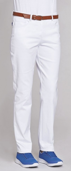 LEIBER-Damen-Bundhose, ca. 88 cm, weiß