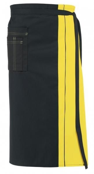 LEIBER-Vorbinder,  schwarz/gelb
