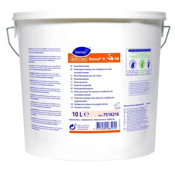 DIVERSEY-Hand-/Hände-Reiniger, Handwaschpaste, SOFT-CARE, 10 ltr.