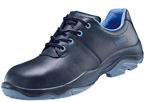 ATLAS-S3-Sicherheits-Arbeits-Berufs-Schuhe, Halbschuhe, Anatomic Bau 450, schwarz