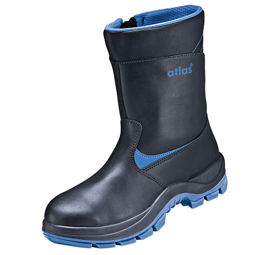 ATLAS-S3-CI-Winter-Sicherheits-Arbeits-Berufs-Schuhe, Anatomic Bau 800 XP, schwarz