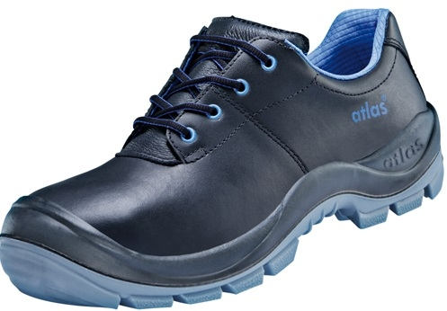 ATLAS-S3-Sicherheits-Arbeits-Berufs-Schuhe, Halbschuhe, Anatomic Bau 460, schwarz