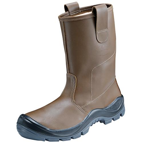 ATLAS-S3-CI-Winter-Sicherheits-Arbeits-Berufs-Schuhe, Anatomic Bau 825 XP, beige