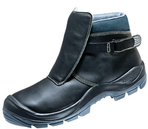 ATLAS- S3 HI-Schweißer-Sicherheits-Arbeits-Berufs-Schuhe, Hochschuhe, Duo Soft 765 HI, schwarz