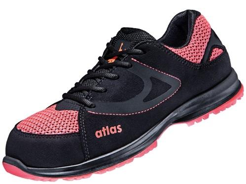 ATLAS-S1-Damen-Sicherheits-Arbeits-Berufs-Schuhe, Halbschuhe, GX 200, ESD