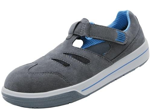 ATLAS-S1-Sicherheits-Arbeits-Berufs-Sandalen, A422, Sneaker Line, schwarz