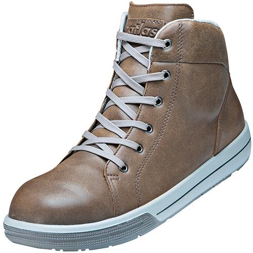 ATLAS-S3-Sicherheits-Arbeits-Berufs-Schuhe, Hochschuhe, A515, Sneaker Line, braun