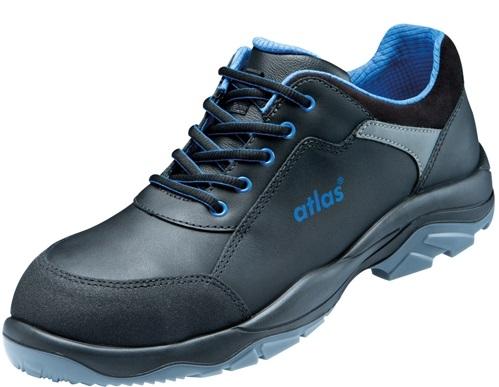 ATLAS-S2-Sicherheits-Arbeits-Berufs-Schuhe, Halbschuhe, Alu-Tec 560, schwarz