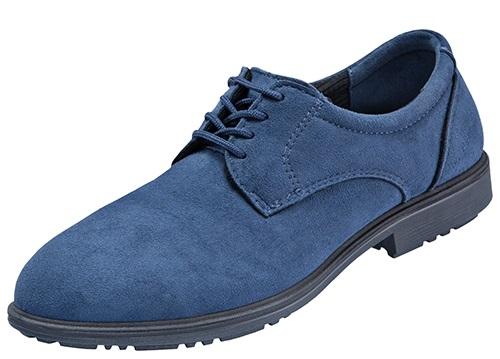 ATLAS-S1-Sicherheits-Arbeits-Berufs-Schuhe, Halbschuhe, CX 42 blue, ESD, blau