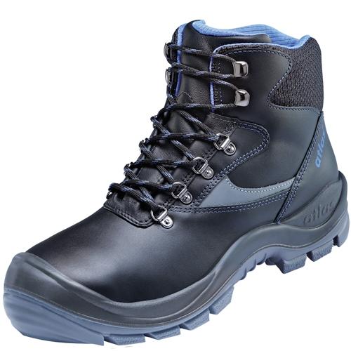 ATLAS-S3-Sicherheits-Arbeits-Berufs-Schuhe, Hochschuhe, XP 705, schwarz