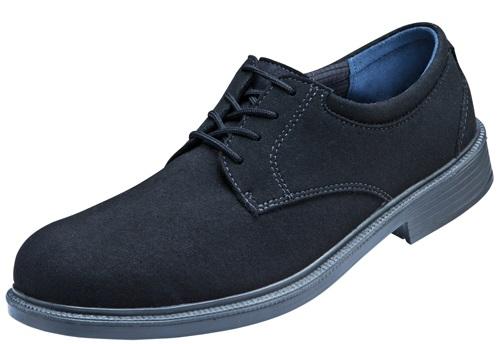 ATLAS-S1P-Sicherheits-Arbeits-Berufs-Schuhe, Halbschuhe, CX 505 black, ESD, schwarz