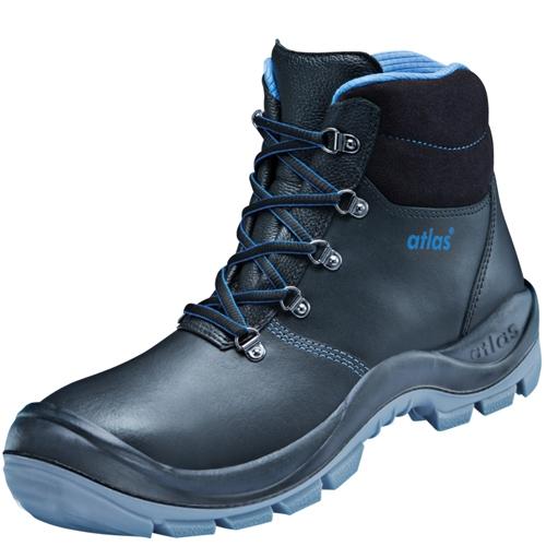 ATLAS-S3-Sicherheits-Arbeits-Berufs-Schuhe, Hochschuhe, XP 505, schwarz