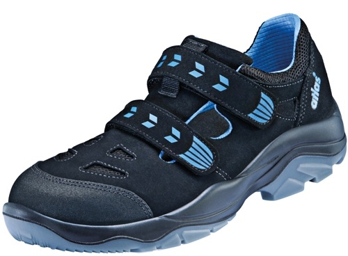 ATLAS-S1 P, Sicherheits-Arbeits-Berufs-Schuhe, Halbschuhe, XP 355, schwarz