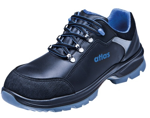 ATLAS-S3-Sicherheits-Arbeits-Berufs-Schuhe, Halbschuhe, XP 435, schwarz