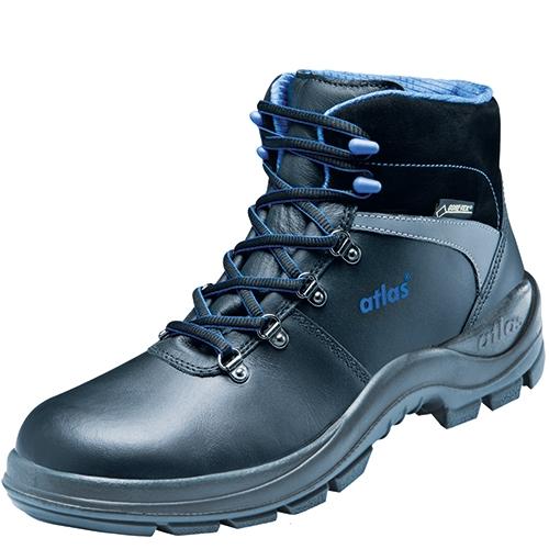 ATLAS-S2 CI-Sicherheits-Arbeits-Berufs-Schuhe, Hochschuhe, GTX 780 Gore-Tex, schwarz