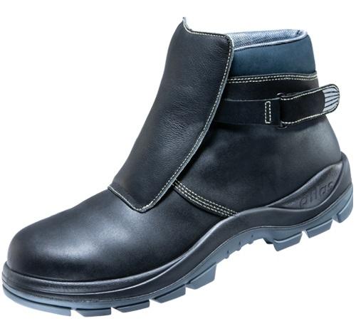 ATLAS-S3 HI-Schweißer-Sicherheits-Arbeits-Berufs-Schuhe, Hochschuhe, Duo Soft 775 HI, schwarz