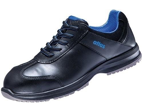ATLAS-S2-Sicherheits-Arbeits-Berufs-Schuhe, Halbschuhe, Sneaker, SN 20 black, schwarz